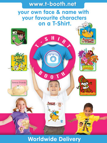 T-Shirt Booth App