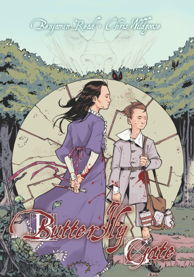 Butterfly Gate Volume 1 Cover