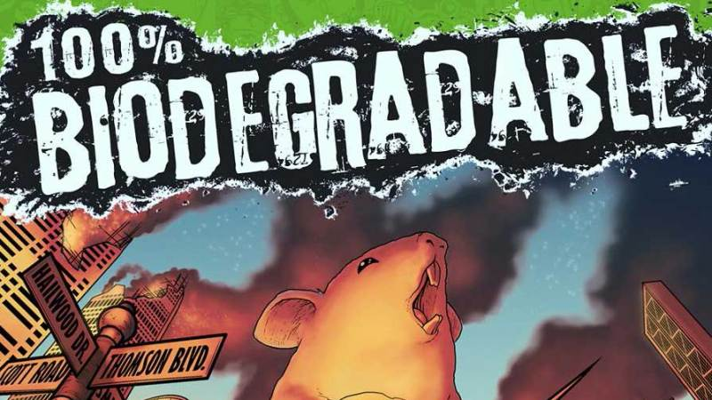100% Biodegradable, new indie anthology comic launched