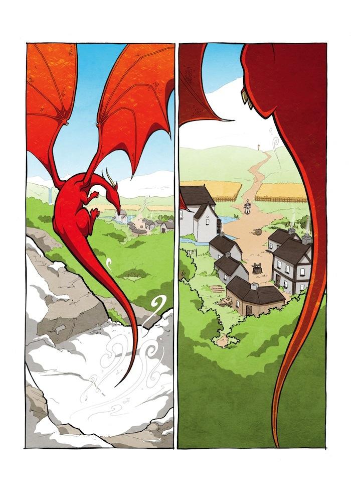 Knight & Dragon Page 2