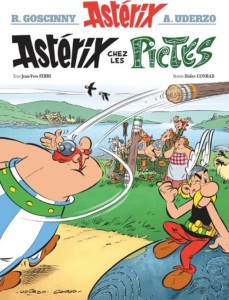 The French cover to the new Asterix story