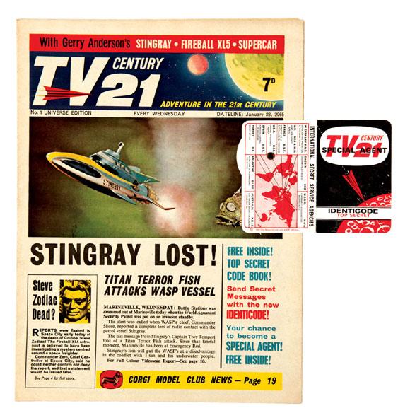 TV Century 21 with decoder gift