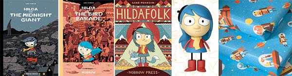 Luke Pearson's 'Hilda' books