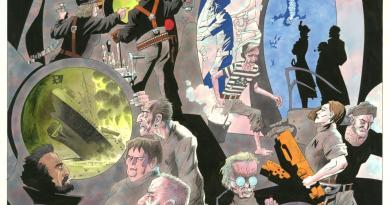League of Extraordinary Gentlemen: Nemo Art by Kevin O'Neill