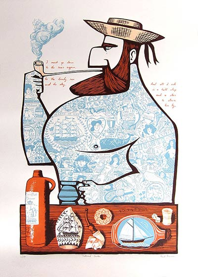 Tattooed Sailor by Paul Bommer