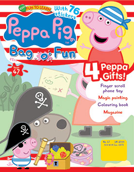 Peppa Pig Bag of Fun Magazine