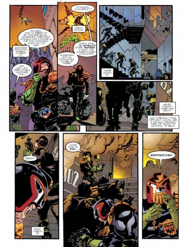 Judge Dredd: The Man Comes Around Page 3 - Judge Dredd Megazine Issue 344
