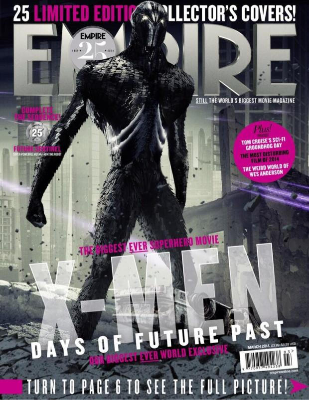 "The ""Future Sentinel"" cover for the March cover dated issue of Empire"