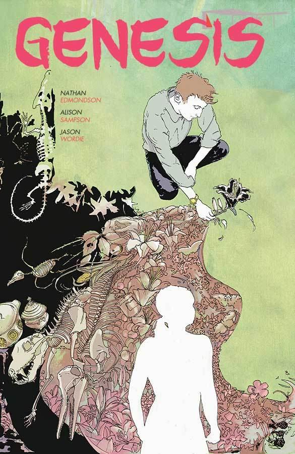 Genesis by Nathan Edmondon, drawn by Alison Sampson