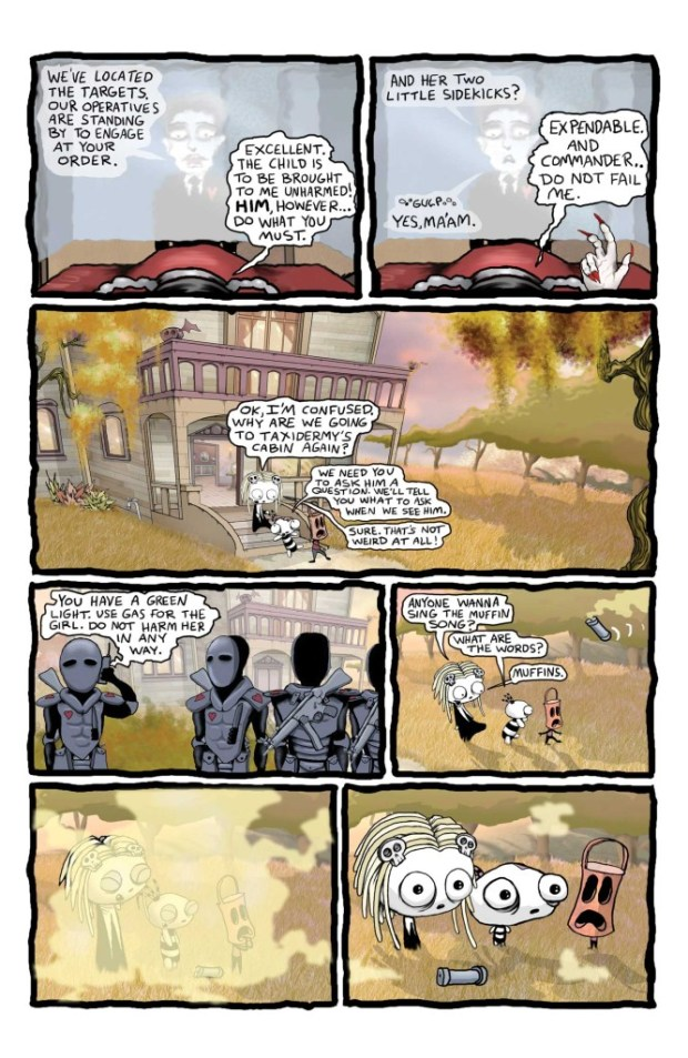 Lenore Issue 9 Preview Page 2