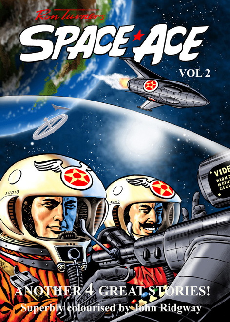 Ron Turner's Space Ace Volume 2 Cover