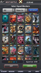 X-Men: Battle of the Atom Screenshot: Characters