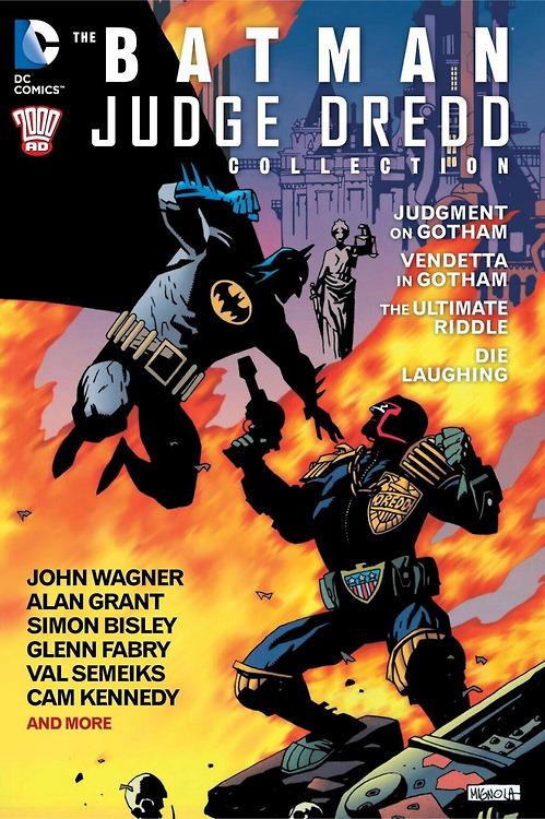 Batman Judge Dredd Collection Cover