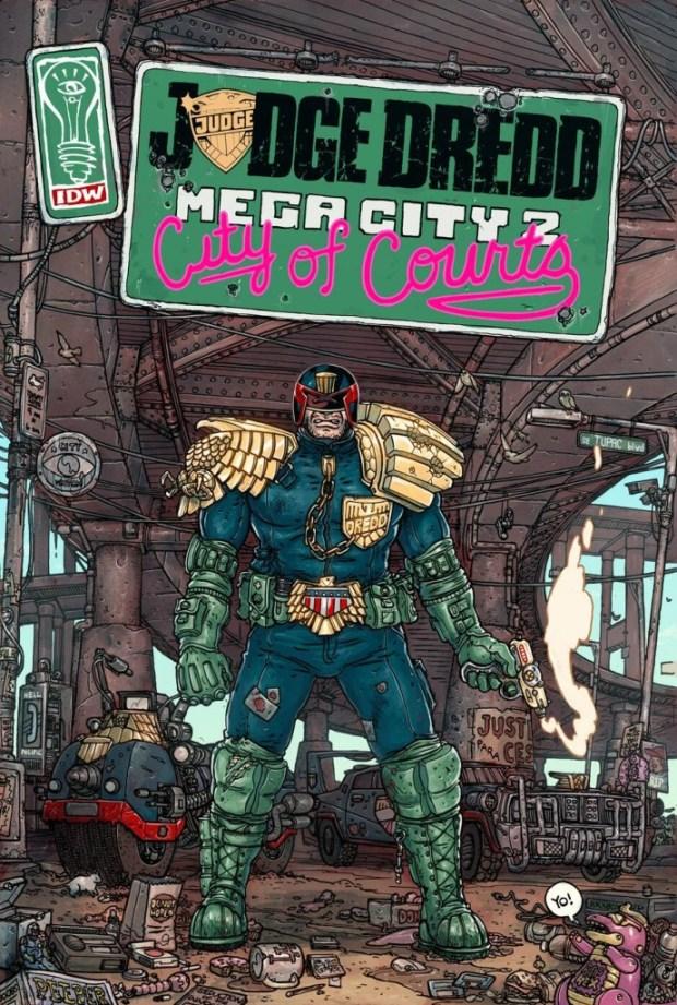 Judge Dredd: Mega City Two #1 Cover