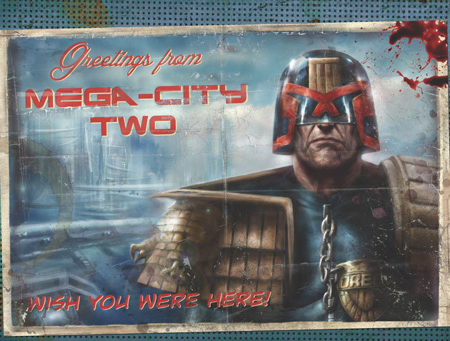Judge Dredd Mega-City Two Promotion