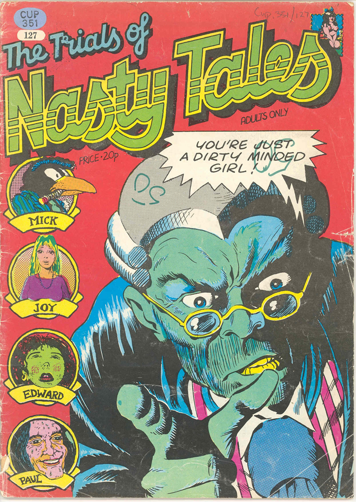 The Trilas of Nasty Tales Cover by Dave Gibbons