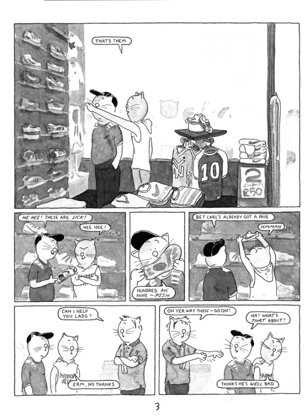 Playing Out by Jim Medway - Sample Page 1