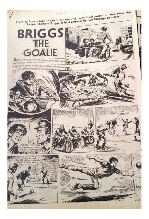 Briggs the Goalie - Hornet, 1976