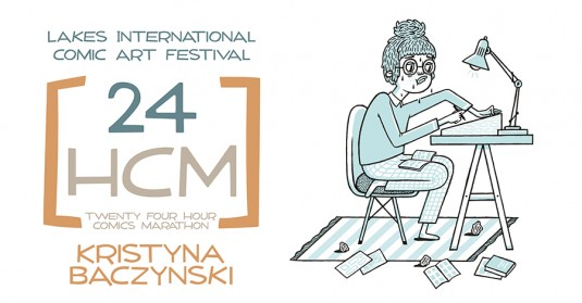 LICAF 2014 24 Hour Marathon - Kristyna Baczynski
