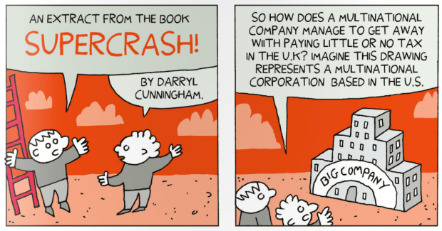 An excerpt from Supercrash that featured in the independent comic OFF LIFE
