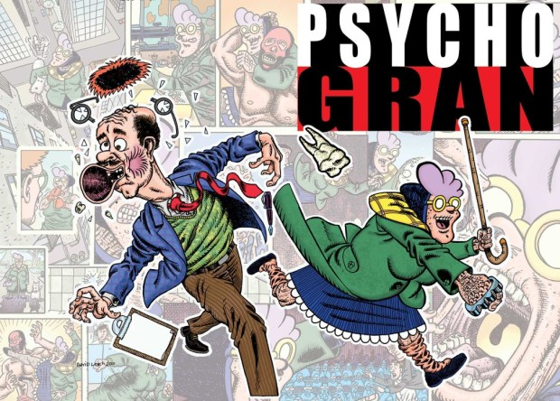 Psycho Gran Issue 1 Cover