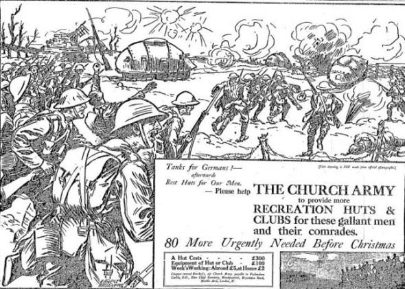 Church Army: Tanks