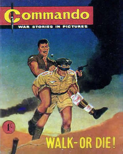 Commando #1, published in June 1961.