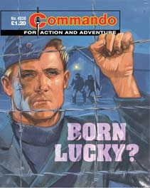 Commando #4038, one of the title's reprint editions.