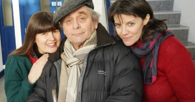 Sophie Aldred, Sylvester McCoy and Lisa Bowerman. Photo: Big Finish