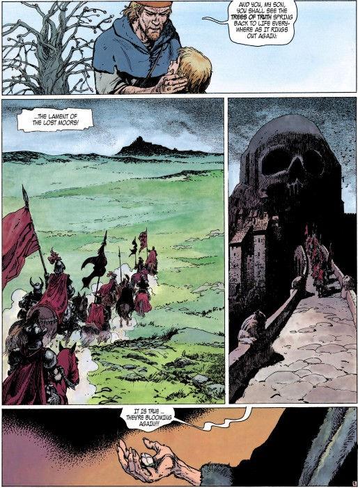 Lament of the Lost Moors Volume 2 Sample Page