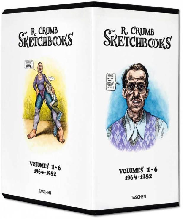 Robert Crumb Complete Sketch Books