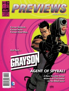 Dick Grayson has renounced his Nightwing identity and joined the secret agent service Spyral in Tim Seeley and Mikel Janin's new series from DC Entertainment, Grayson.