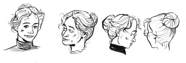 Kate Charlesworth's designs for Sally Heathcote. © Kate Charlesworth