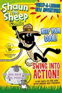 "British Skin Foundation ""Shaun the Sheep' Custom Comic"