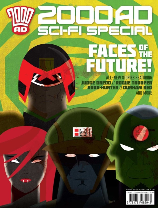 2000AD Sc-Fi Special 2014