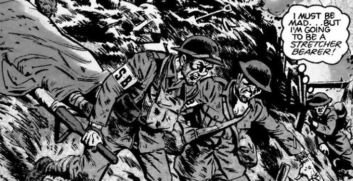 Great War in Comics Exhibition, Abbot Hall Gallery, Kendal 2014