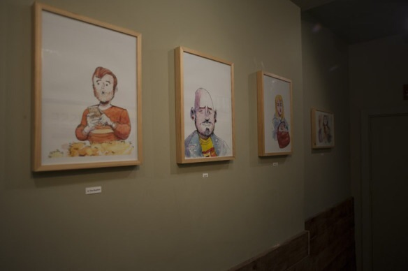 Sean Azzopardi Exhibition at The ArtHouse in Crouch End, 2014