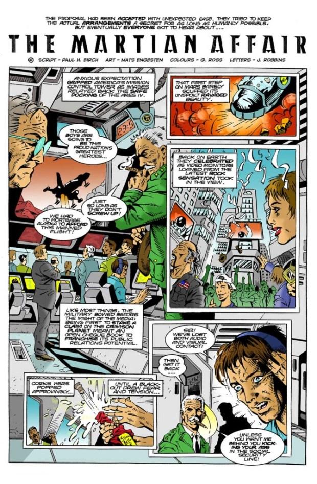 """""""The Martian Affair"""" by Paul H. Birch and Mats Engesten"""