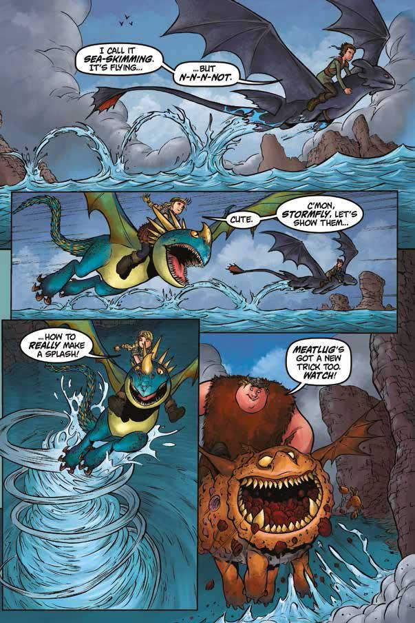 Dragons: Riders of Berk Volume 1 - Sample Page 1