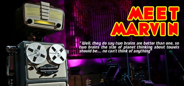 Theatre Marvin the Paranoid Android