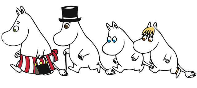 The Moomins by and © Tove Jansson