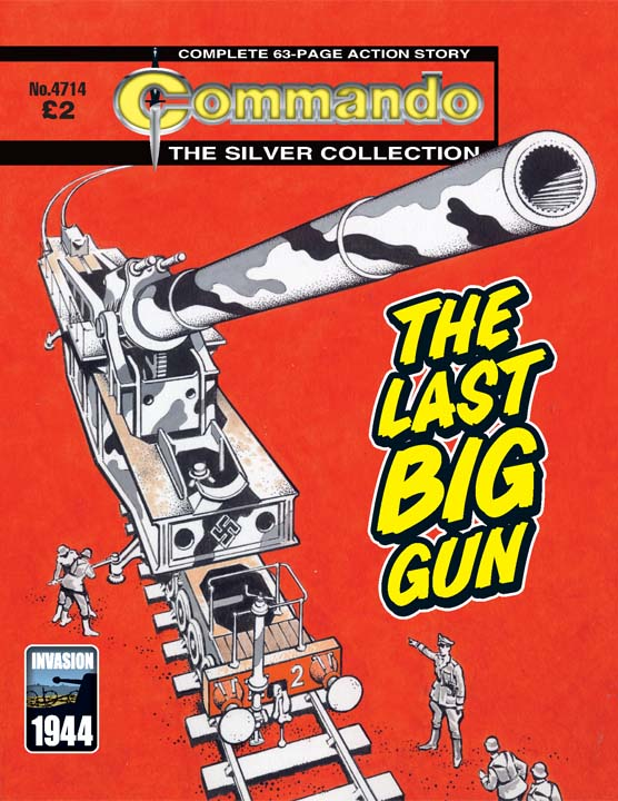 "Commando Issue 4714 ""The Last Big Gun"""