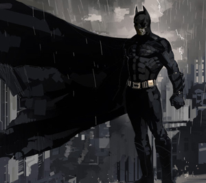 Concept art for Batman by Dermot Power