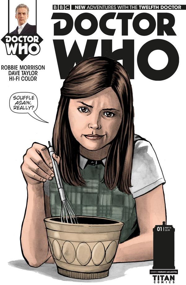 Doctor Who: Twelfth Doctor #1 Cover D