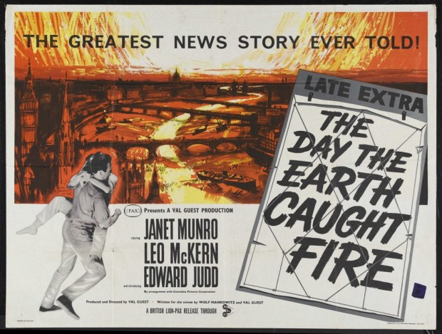 The Day the Earth Caught Fire film poster