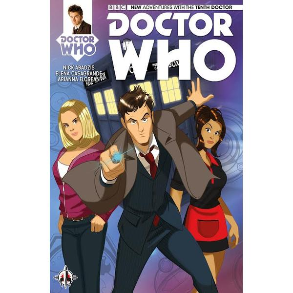 Doctor Who - Tenth Doctor #1 -  Des Taylor Variant Cover