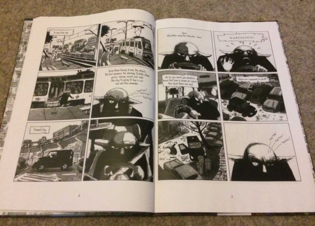 Blacky: Four of Us - Sample Page