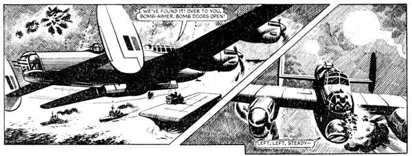 Braddock strip in Red Dagger Issue 29