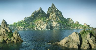 The all-new Tracy Island for Thunderbirds Are Go. Image © ITV Studios