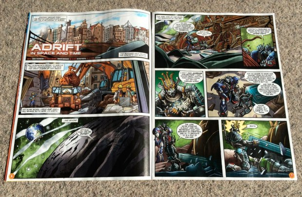 Transformers: Age of Extinction #1 Comic